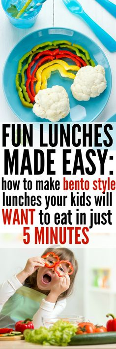 fun lunches made easy // bento lunches, kid lunches, kids lunches, easy lunches, school lunches, lunch box, bento box, healthy lunch, quick lunch, themed lunch, picky eater, lunch ideas, lunch box ideas, lunch box inspiration