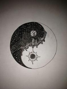 yin yang tatuaje tumblr - Buscar con Google