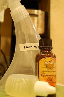 For curlie girls, make your own hydrating hair water with essential oil