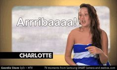 Take a look at this TV moment from zeebox.com: Geordie Shore S1 E1: Arribaa #GeordieShore Charlotte Geordie, Mtv Tv, Geordie Shore, That Look, Take That, My Eyes, In This Moment, My Love