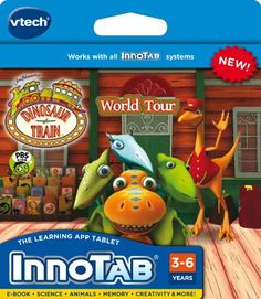 25% Off was $24.99, now is $18.67! VTech InnoTab Software - Dinosaur Train + Free Shipping