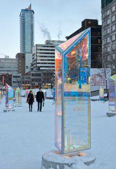 Holographic Prism in Montreal_5 – Fubiz™