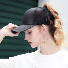 e2cde8db 8 Best Messy Bun Ponytail Cap images in 2019