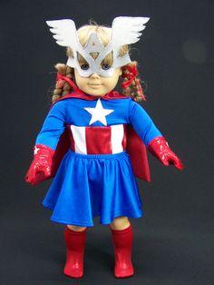 Miss America Super Hero by vebasews4u on Etsy, $40.00