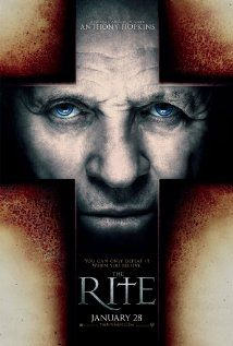 The Rite (2011), New Line Cinema, Contrafilm, and Mid Atlantic Films with Anthony Hopkins, Colin O'Donoghue, and Alic Braga. I enjoyed this one a lot.