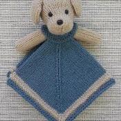 Mini Puppy Lovey Blankie - via @Craftsy
