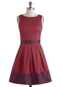 In The Pattern Mix Dress In Dots http://thefashionjoe.tumblr.com/post/81996310936/in-the-pattern-mix-dress-in-dots