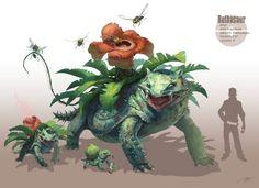 El ilustrador RJ Palmer rediseñó a varios Pokemon para mostrarnos cómo se verían estos personajes si fueran parte de una película épica y más realista....