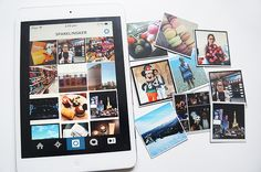 Bring Your Instagram Photos to Life sticky9 instagram magnets