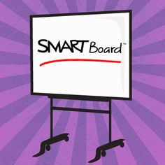 Smart boards are incredible tools to use within the classroom! It allows an ordinary lesson to transform into an interactive technology filled learning experience! There are so many different opportunities through utilizing the Smart board! Teaching Technology, Teaching Tools, Educational Technology, Teaching Ideas, Smart Board Activities, Smart Board Lessons, Teacher Blogs, Teacher Hacks, School Classroom