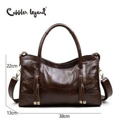 2997bf4612879 Cobbler Legend Original Genuine Leather Women Shoulder Bags 2017 New  Leisure Trend Ladies Crossbody Bag For Women s Handbag