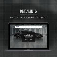 'DREAMBIG'  Web Design Project