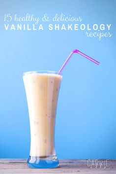 15 Vanilla Shakeology Recipes that are perfect for the 21 Day Fix! Day Fix Recipes Shakeology) Shakeology Shakes, Vegan Shakeology, Beachbody Shakeology, Vanilla Shakeology, Best Shakeology Recipes, Giada De Laurentiis, Protein Shake Recipes, Protein Shakes, Protein Smoothies
