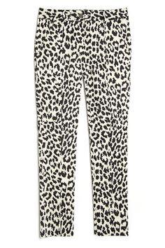 Thakoon Addition Leopard Straight Leg Pant | Kirna Zabete