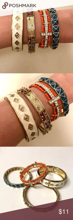 Boho bracelet set Set of 4 bracelets that make for a perfect boho combination! Jewelry Bracelets