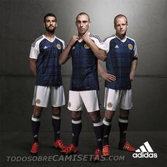Scotland 2016 Home and Away Kit by Adidas