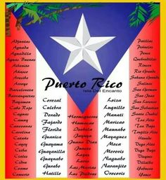 ¿Desde que pueblo nos sigues? Comenta 🇵🇷 This are the 78 municipalities of the enchanted island of Puerto Rico! Any parents here? Have you visit anyone? Puerto Rico Island, Puerto Rico Food, Rio Grande, Pr Flag, Puerto Rico Pictures, Puerto Rican Flag, Puerto Rico History, Puerto Rican Culture, Puerto Rican Recipes