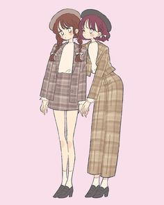 Cute Art Styles, Cartoon Art Styles, Chino Anime, Character Art, Character Design, Cartoon Kunst, Korean Art, Drawing Clothes, Anime Outfits