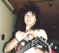 the Carvin guitar of Jason Becker