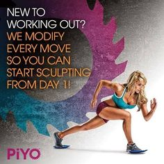 PiYo is out!! If you want a workout that is challenging with low impact.. This is it! I would love to hear from you and answer questions if you are interested :)