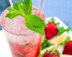 Mojito fraise #CuisineAZ