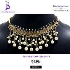 If edgy and special is your style then you ought to check this #necklace for your next buy #BlingStation #fashion #FashionJewellery #FashionForGirls #JewelleryOnSale #Jewelry