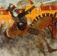Illustration by Svetlin Vassilev for Don Quixote