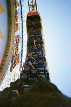 I'm on a roller coaster that only goes up my friend ~ tfios