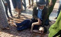 Tin tuc oto  nam thanh niên cùng nhiều người khác nhảy xuống sông Hàn cứu một cô gái trẻ tự tử nhưng bị đuối nước nên chìm xuống sông mất tí...