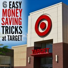 6 Money Saving Tips for Target Love Target shopping? Try these 6 easy money saving tips for Target to help you save money. From Target coupons, to Target Ways To Save Money, Money Tips, Money Saving Tips, Sunday Paper, Target Coupons, Household Expenses, Crazy Mom, Budgeting Money, Dinners For Kids