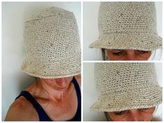 bucket hat - summer crochet