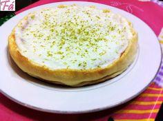 Bolo de Limão com Requeijão Dukan | Fabíola Bianco( ovo, requeijao, essencia de limao, leite em pó, adocante, fermento)