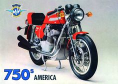 1975-1977 MV Agusta 750 America 221
