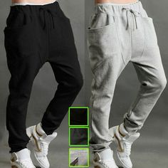 Mens Womens Casual Harem Baggy Hip Hop Dance Jogging Sweat Pants Slacks  Trousers  UnbrandedGeneric   9d4c936886138
