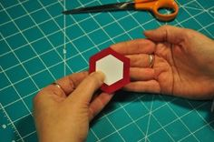 English Paper Piecing Instructions for Hexagons