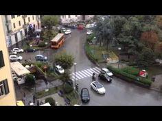 Vomero: pioggia con sinfonia di sirene
