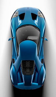 The new Ford GT - top view