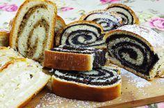 Jemný kysnutý závin   Pečené-varené.sk Challa Bread, 3d Cakes, Strudel, Pavlova, Cake Cookies, Camembert Cheese, Panna Cotta, French Toast, Cheesecake