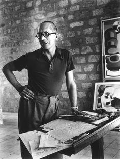 Le #Corbusier (1887-1965) - #Architect #Designer #Urbanist #Writer © Photo by Rogi André 1937