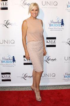 Yolanda Foster Pencil Skirt Outfits, Pencil Dress, Yolanda Foster, Ladies Lunch, Fashion Beauty, Fashion Tips, Mode Inspiration, Stylish Outfits, Celebrity Style