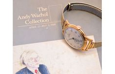 A Look at Andy Warhol's Rolex : For the Andy Warhol fans out there, you can now own a piece of history as the famous painter and Andy Warhol, Gold Rolex, How To Look Handsome, Well Dressed Men, Vintage Watches, Other Accessories, Gold Watch, Pocket Watch, 1940s