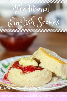 """These """"award winning"""" Traditional English Scones will make you feel like you're visiting a quaint English tearoom... likeLittle Stables Tearoom!Recipe featured in A SCONE TO DIE FOR by H.Y. Hanna and shared with permission granted by the author."""