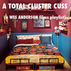 Golly, I admire Wes Anderson and his work and imagination and Alexandre Desplat.