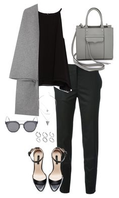 """""""Untitled #294"""" by elliedella ❤ liked on Polyvore featuring STELLA McCARTNEY, Zara, Valentino, Rebecca Minkoff, GANT and ASOS"""