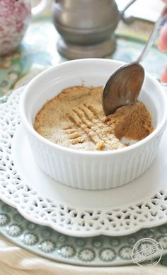 Easy to make deep dish Peanut Butter Cookie For One, a few minutes and a few ingredients are all you need to make this simple dessert recipe. Soft in the center and crisp around the edges, this single serving cookie is the perfect quick treat.