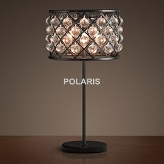 Factory Outlet Modern Vintage Tear Drops Crystal Lighting Table Lamp Desk Lights for Home Hotel Bed Room Decor #Affiliate