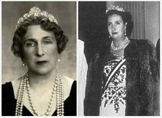 Ena did loan the Mellerio Sheel tiara to her daughter-in-law, Maria de las Mercedes, Countess of Barcelona, on at least one occasion