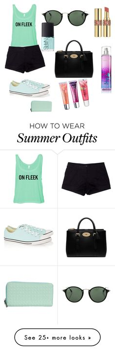"""""""On fleek outfit"""" by anniepaul7 on Polyvore featuring Prada Sport, Converse, Mulberry, Ray-Ban, Yves Saint Laurent, Maybelline and NARS Cosmetics"""