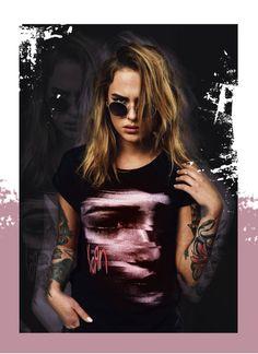 Korn női póló, NŐI MINTÁS PÓLÓ, Merchcode, MC224 black, 9.798 Ft www.trendcity.hu, nyomott női póló, mintás női póló, divatos női póló, női t-shirt, Korn, Michael Jackson, Hip Hop, Fashion, Moda, La Mode, Hiphop, Fasion, Fashion Models