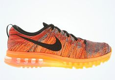 509868dbed39 Nike Flyknit Air Max University Red Black Hyper Crimson Shoes World